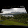 El Castillo, Costa Rica  - This was my best view of Arenal volcano for two days