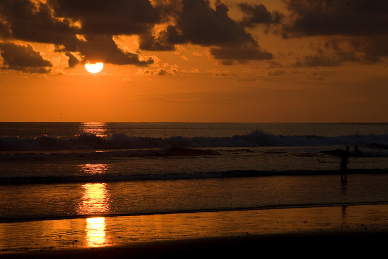 Sunset at Dominical