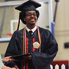 Lynn Ma. 6-1-17. Yahya Guled Adan gets his high school diploma during graduation exercises at Lynn Vocational Technical Institute
