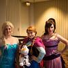 Elsa, Anna and Meg