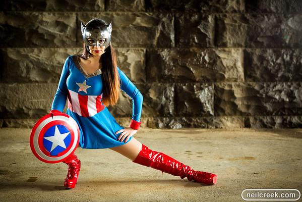Connie Captain America - 120728