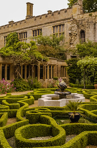 Knot Garden - Sudeley Castle