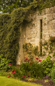 Wall and Garden - Sudeley Castle