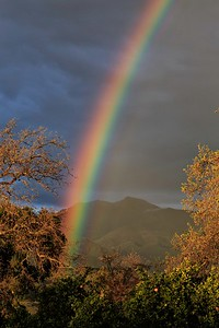 Ojai Valley rainbow with Chief Topa Topa 0M9B2194