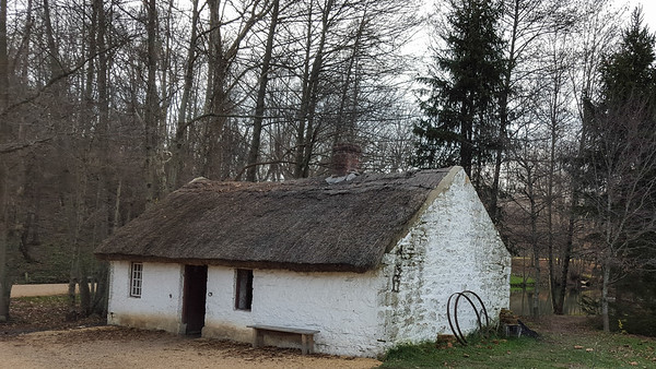 Blacksmith Cottage at Frontier Culture Museum