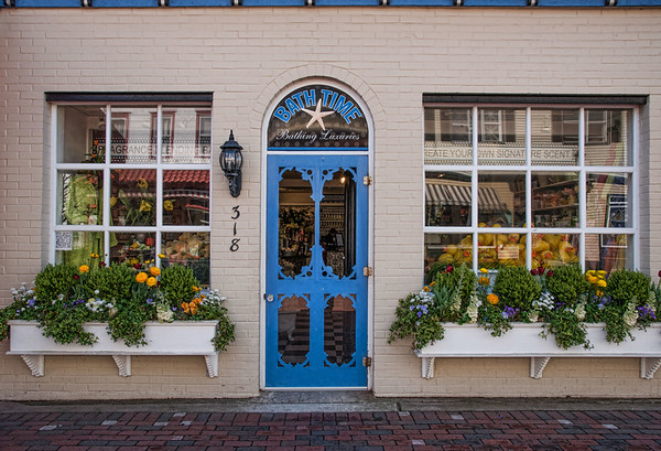 Store Front Flower Boxes