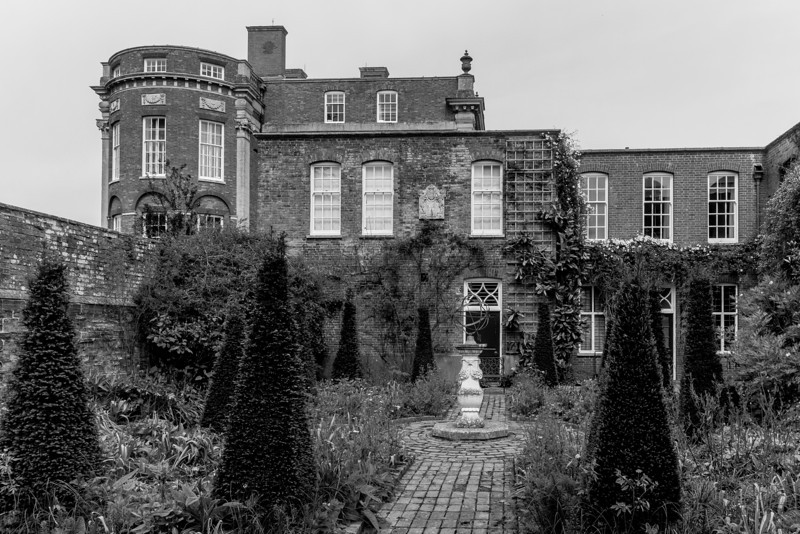 The Dutch Garden, Cottesbrooke Hall, Northamptonshire