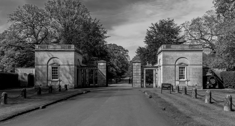Gatehouse, Cottesbrooke Hall, Northamptonshire