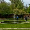 Pool Garden, Cottesbrooke Hall, Northamptonshire