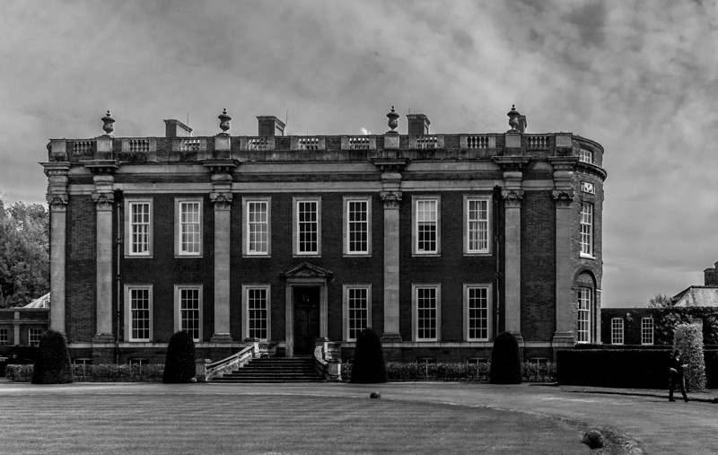 Front Elevation, Cottesbrooke Hall, Northamptonshire