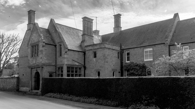 Big house, Main Road, Cottesbrooke, Northamptonshire