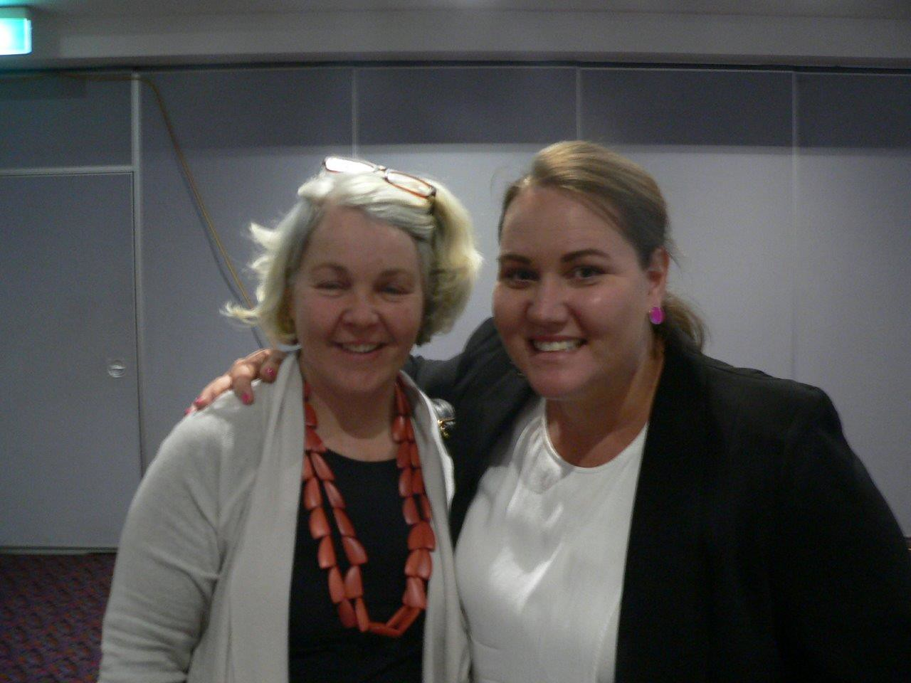Narromine WHS workshop 08.09.15 Vicki Tuck and Bec Fing