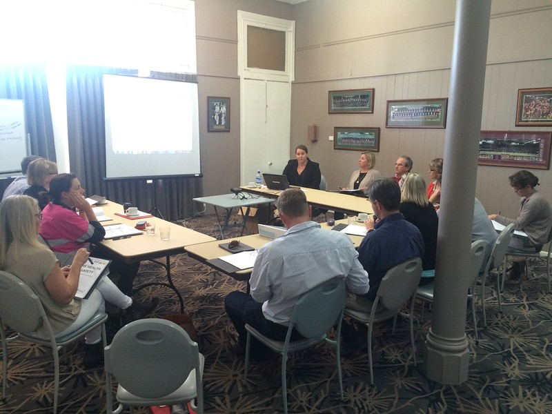 Gunnedah WHS workshop 150915 Bec Fing