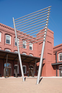 The Cotton Factory in Old Town Rock Hill, South Carolina.