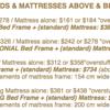 100% COTTON MATTRESSES - FUTON MATTRESSES - SOLID WOOD BED & FUTON FRAMES