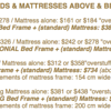 100% COTTON MATTRESSES - FUTON MATTRESSES - SOLID WOOD BED & FUTON FRAMES