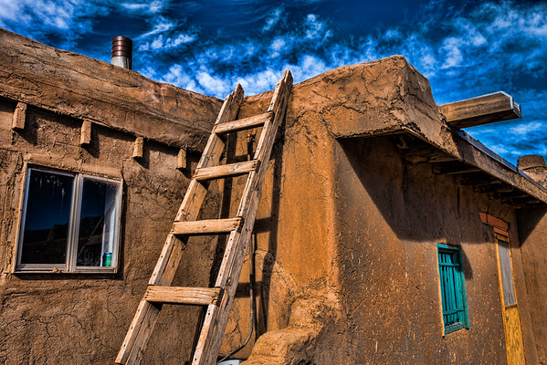 Residence, Taos Pueblo, NM (CP-147-2014-01-27)