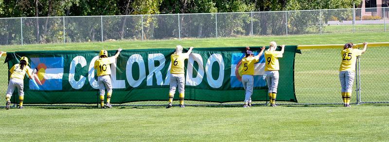 Softball against Adams State