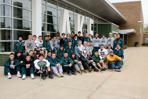 Lacrosse Senior Day 2012
