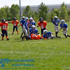 Isaacson lets go, and Nate brings the ball carrier to the ground. If you zoom the picture in real tight, you can see Nate looking right at me. GOOD WORK BOYS!