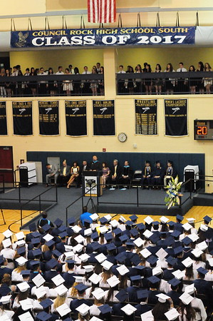 PHOTOS: Council Rock High School South 2017 Graduation