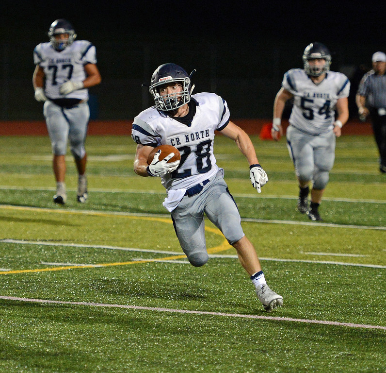 . Mike Welde rushed for a team high 71 yards.