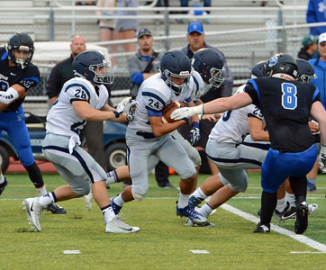 Nick Muro (24) returns opening kickoff.