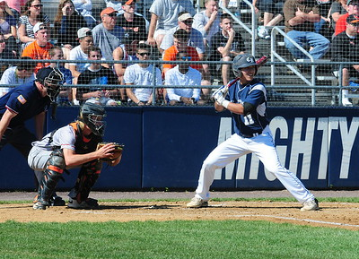 Council Rock North senior Matt Hand takes his at-bats in PIAA quarterfinal battle against Marple Newtown Thursday, June 9 at Immaculata University. (Steve Sherman – 21st-Century Media)