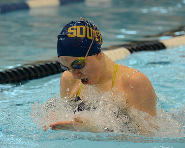 Jenna Fox won the 200 IM for South.