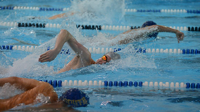 Brandon Heese leads off for North's 200 freestyle relay.