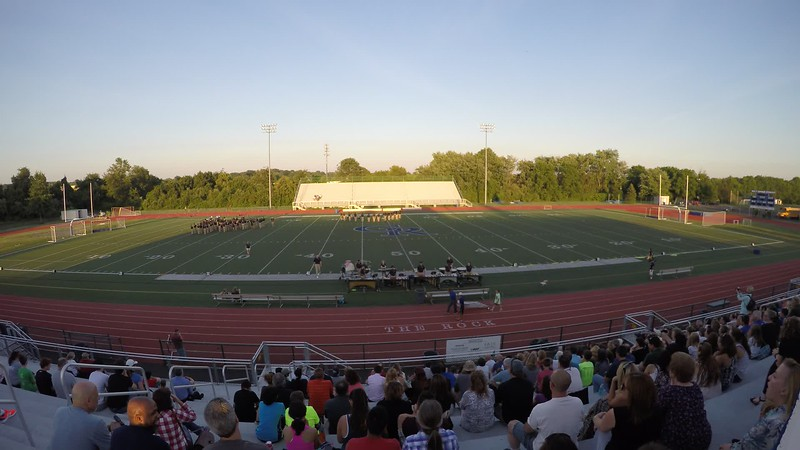 2016 CR North Marching Band - Aug 24, 2016