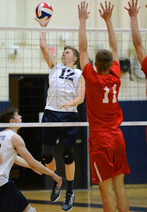 Harry Wyatt (12) goes for a kill.