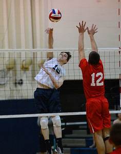 Sean Helmlinger (18) records a kill.