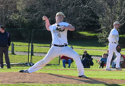 Council Rock South sophomore John Barber mowed down six consecutive batters in two innings of work to record the save.