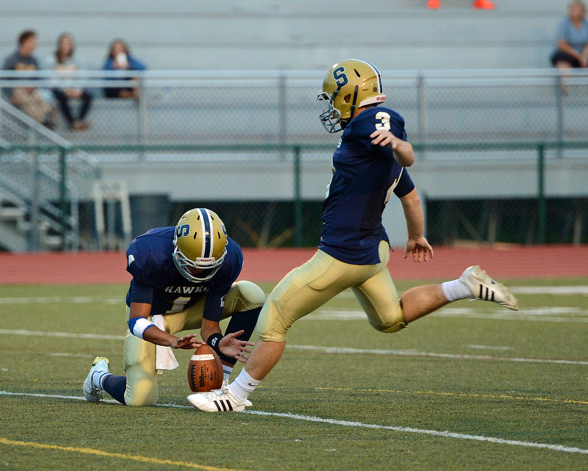 Kicker Andrew Witten (3) converted all four point-after attempts.