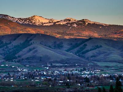 Nightfall on Council Mountain