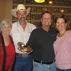 Winner of the 2011 Remodelers Council Texas Hold 'Em Tournament Matt Evans with Remodelers Board Members Ann Adamson, Keith Nelson and Aubrey Tuggle.