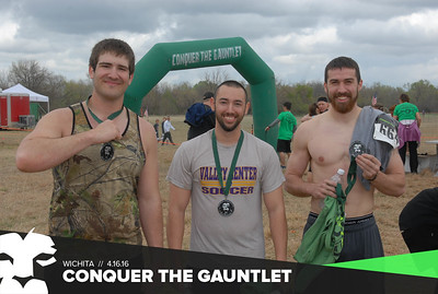 Counquer the Gauntlet 2016 Wichita
