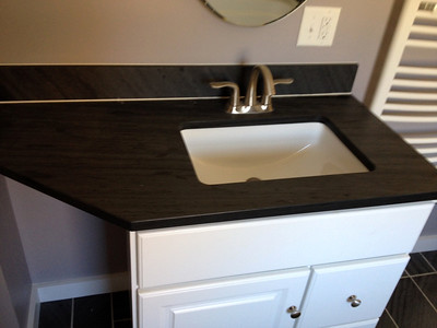 Shadow Gray Honed Vanity Top