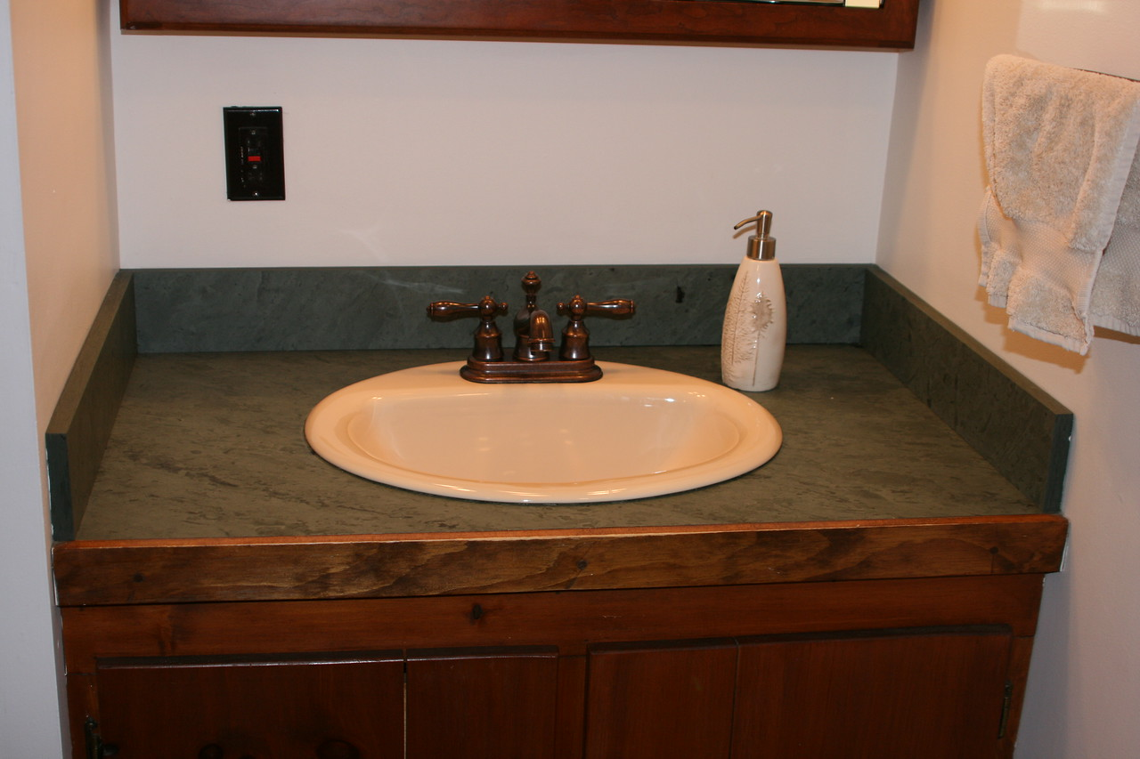 Unfading Green Honed Vanity Drop In Sink