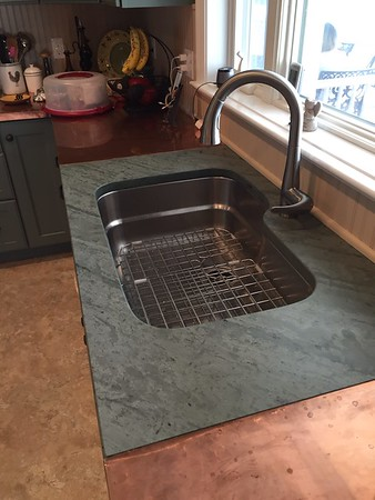 Unfading Green Tops Undermount Sink
