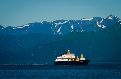"""Homer is the self-proclaimed """"world capital of halibut fishing""""."""