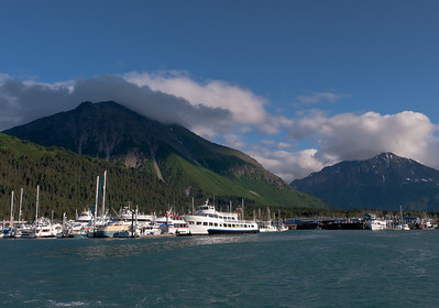 Departing on an 8 hour photography boat adventure in the Kenai Fjords National Park, with only a dozen or so other photographers.