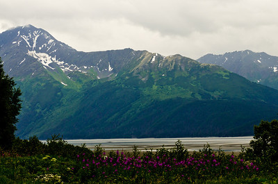 Seward Highway from Anchorage.