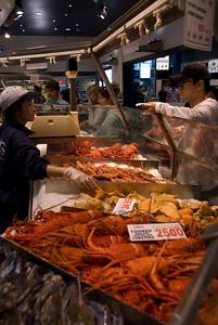Sydney Seafood market