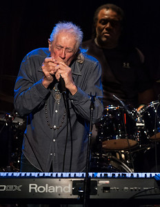 John Mayall is legendary.  He will turn 80 later this year, but gave two amazing performances at Jazz Alley .  The photos show how much he loves what he is doing.  The sets were about 70 minutes but the interludes between songs were short and informative. See johnmayall.com for more info, includng a tour schedule that would exhaust someone much younger.