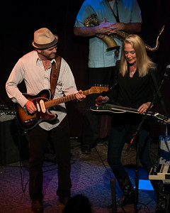 Mike Schermer and Cindy Cashdollar on steel guitar (formerly with Asleep at the Wheel)