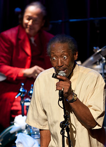 """Willie """"Big Eyes"""" Smith and Pinetop Perkins recorded 'Joined at the Hip' in 2010.  The album won a Grammy Award for Best Traditional Blues Album."""