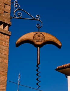 Cork screw museum of barolo