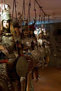 Randazzo Museo dei Pupi (puppets) Siciliani